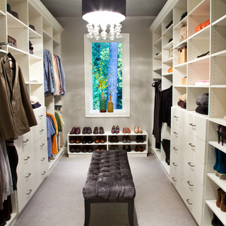 Walk In Closet designs from closet theory